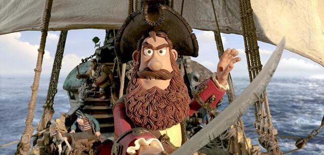 Der durchgeknetete Piratenkapitän