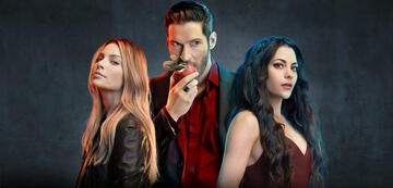 Lucifer, Chloe und Eva in Staffel 4