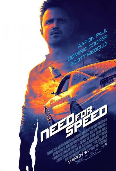 Need for Speed mit Aaron Paul