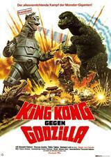 King Kong  gegen Godzilla - Poster