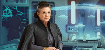 Star wars 9 carrie fisher leia