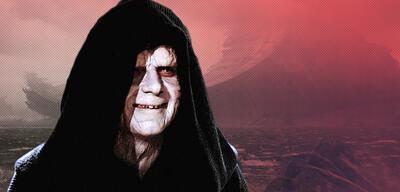 Ian McDiarmid in Die Rückkehr der Jedi-Ritter vor dem Todesstern aus Star Wars 9