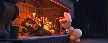 Olaf in Die Eiskönigin