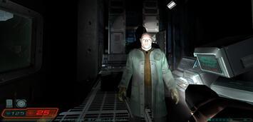 Bild zu:  Szene aus Doom 3
