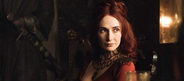 Melisandre mischt das Geschehen in Westeros auf