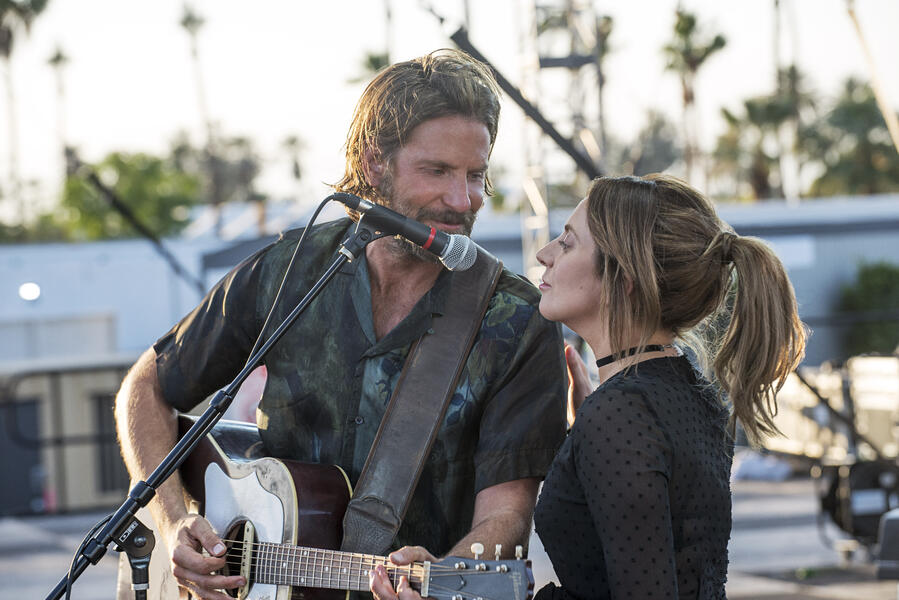 A Star Is Born mit Bradley Cooper und Lady Gaga