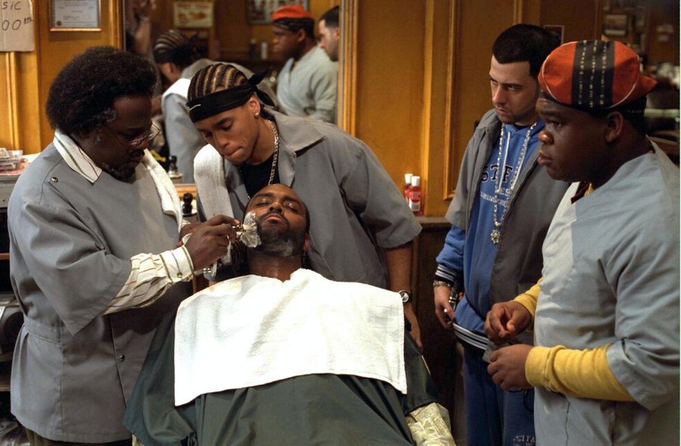 Barbershop mit Leonard Earl Howze