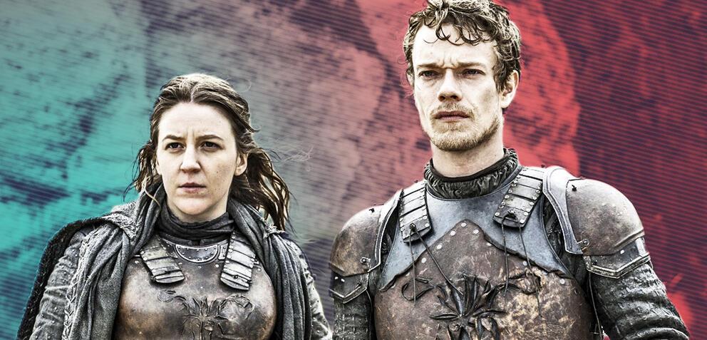 Game of Thrones: Asha und Theon Graufreud