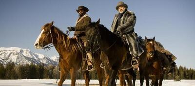 Jamie Foxx und Christoph Waltz als Pferdefreunde