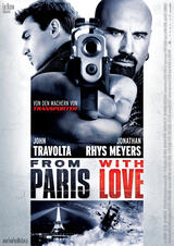 From Paris with Love - Poster