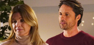 Meredith und Nathan in Grey's Anatomy - Staffel 14