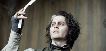 Bild zu:  Johnny Depp in Sweeney Todd