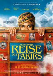 Die unglaubliche Reise des Fakirs, der in einem Kleiderschrank feststeckte Poster