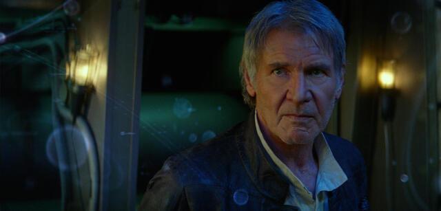 Harrison Ford in Star Wars 7