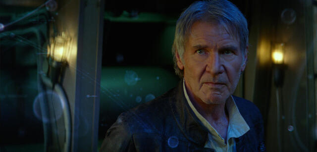 Harrison Ford in Star Wars 7
