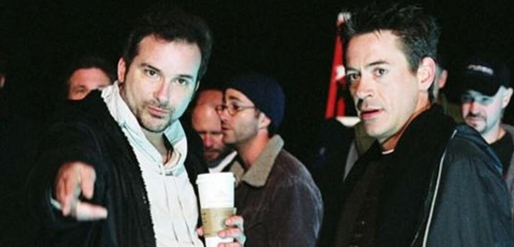 Robert Downey Jr. und Shane Black sind unzertrennlich (am Set zu Kiss, Kiss)