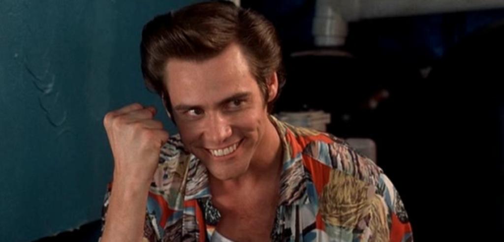 Jim Carrey als Ace Ventura