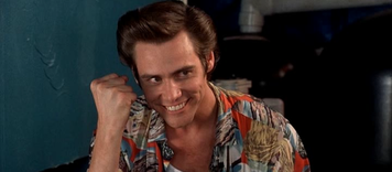Jim Carrey als Ace Ventura