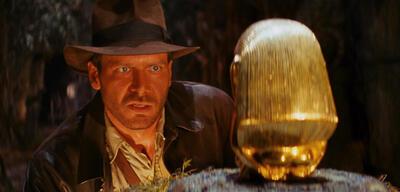 Harrison Ford inJäger des verlorenen Schatzes