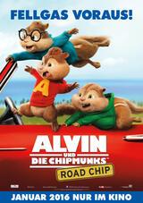 Alvin und die Chipmunks 4: Road Chip - Poster