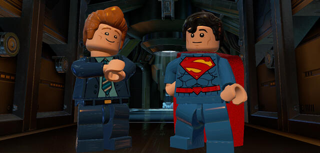 Conan O'Brien in LEGO Batman 3