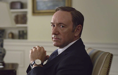 Kevin Spacey als Frank Underwood