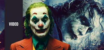 Joaquin Phoenix und Heath Ledger als Joker