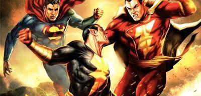 Shazam & Superman im Kampf gegen Black Adam