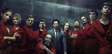 Haus des Geldes: Die Crew in Staffel 3