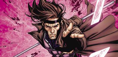 Gambit in einem Comic