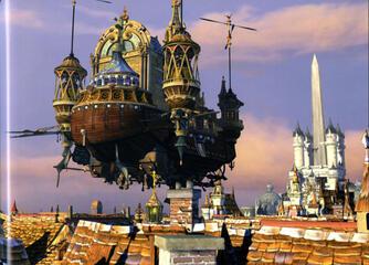 Final Fantasy IX Der Anblick eines Luftschiffes erzeugt auch nach 15 Jahren Gänsehaut.
