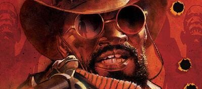 Django macht auch als Comic-Figur eine gute Figur
