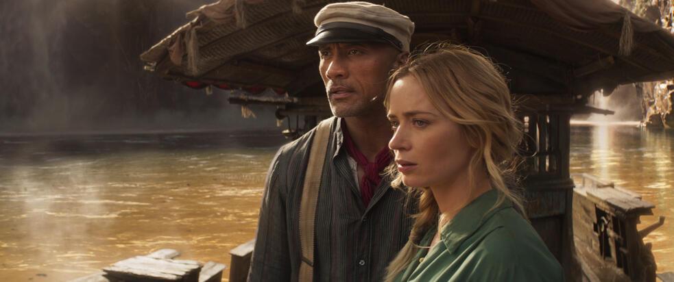 Jungle Cruise mit Dwayne Johnson und Emily Blunt