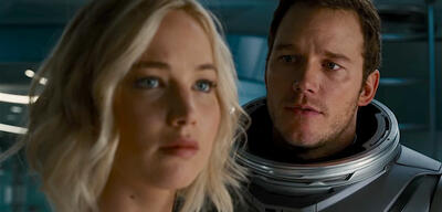 Passengers mit Jennifer Lawrence und Chris Pratt