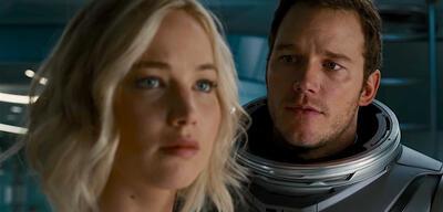Passengers mit Jennifer Lawrence und Chris Pratt