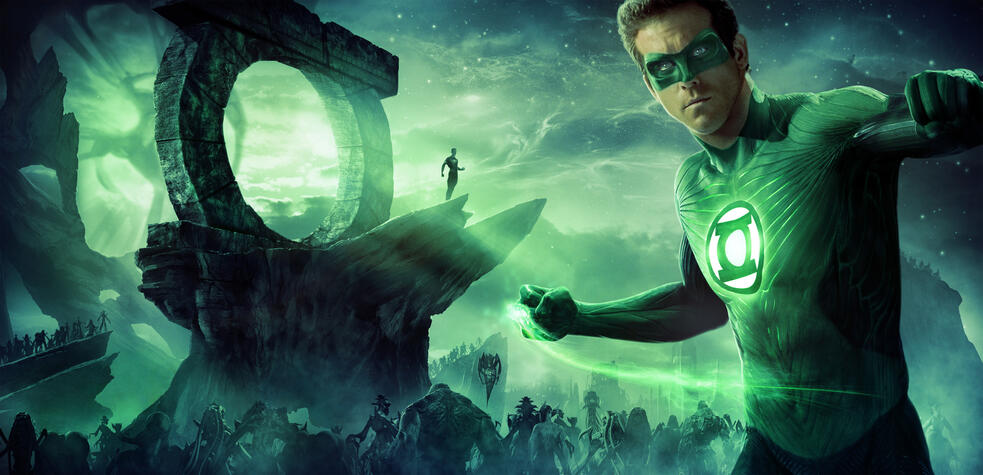 Green Lantern mit Ryan Reynolds