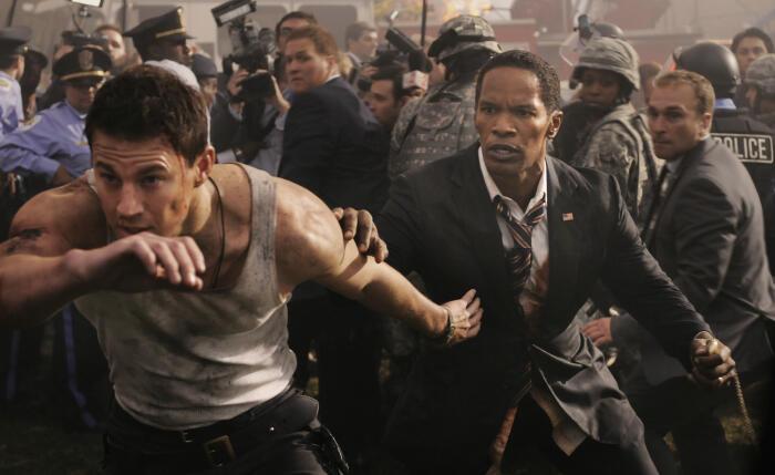 White House Down mit Jamie Foxx und Channing Tatum