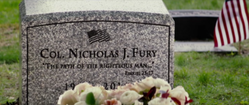 Nick Furys Grab in Captain America 2