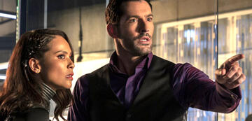 Lucifer mit Maze in Staffel 5