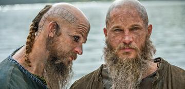 Vikings: Floki und Ragnar