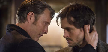 Will und Dr. Lecter in Hannibal