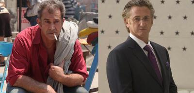 Mel Gibson und Sean Penn