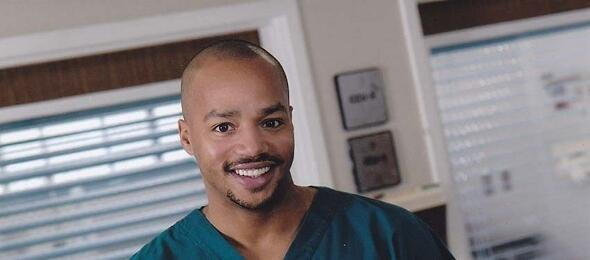 Donald Faison in Scrubs