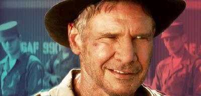 Harrison Ford in Indiana Jones 4