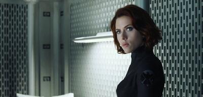 Scarlett Johansson inMarvel's The Avengers