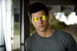 Bild zu:  Im Geldsegen - Taylor Lautner