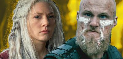 Lagertha und Björn in Vikings