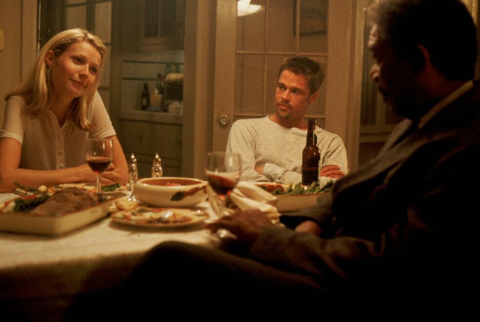 Sieben mit Brad Pitt, Morgan Freeman und Gwyneth Paltrow