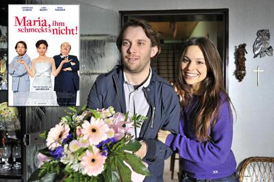 Jan Weiler (Christian Ulmen) will ganz ruhig heiraten...