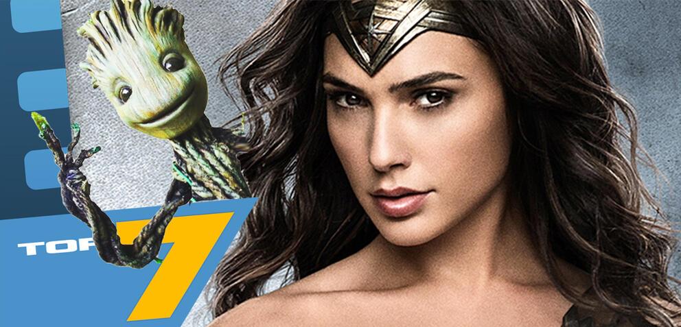 Top 7 der coolsten Superheldenfilme 2017